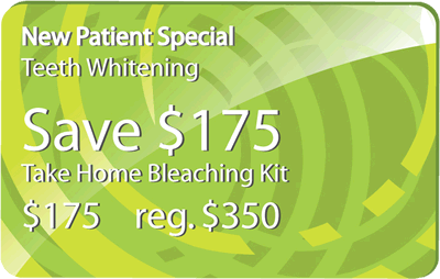 New Patient Special/Teeth Whitening