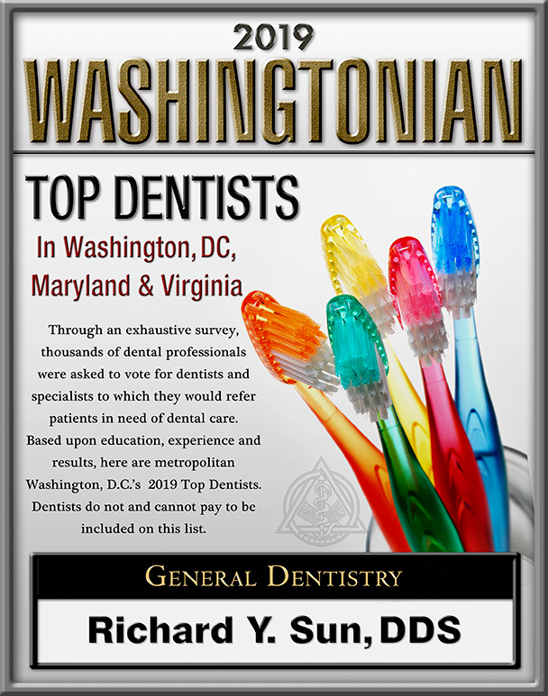 2019 Washingtonian Magazine - Top Dentists